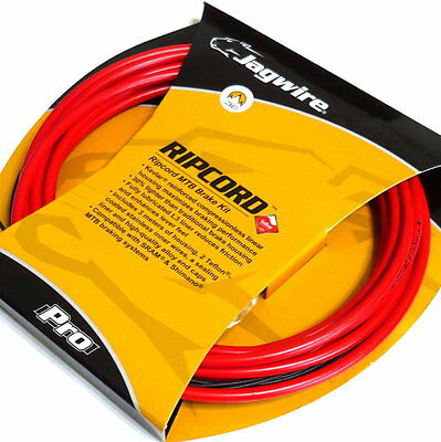 gobike88 Jagwire Ripcord Cable Set for brake, MTB, MCK412, Red, 735