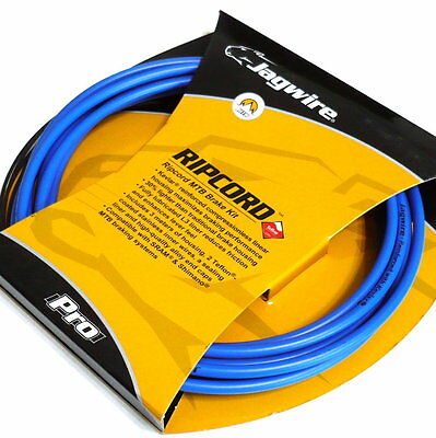 gobike88 Jagwire Ripcord Cable Set for brake, MTB, MCK414, Blue, 736