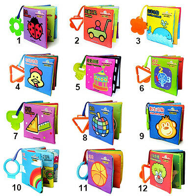 Infant Baby Kid Book Cloth Intelligence Development Cognize Book Cute Toy Noble
