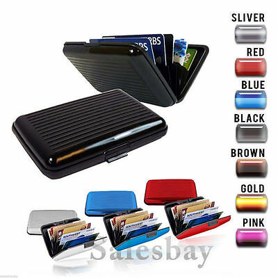 Quality Deluxe Anti RFID Scanning Case Wallet Credit Card Holder