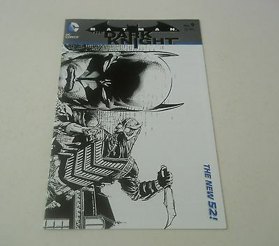 Batman Dark Knight 9 DAVID FINCH RICHARD FRIEND VARIANT 1:25 DC Comics Jul 2012