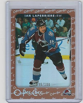 06-07 2006-07 O-Pee-Chee Ian Laperriere Rainbow Parallel Opc /100 128 Avalanche