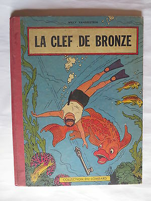 La clef de bronze – Collection du Lombard -– traces d'usages -