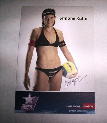 Carte Beach Volley - Swisscom Mobile - Simone Kuhn / Signe