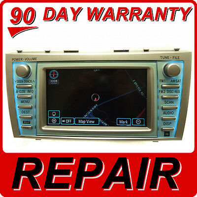 REPAIR SERVICE ONLY Toyota Camry Navigation GPS System CD Player DVD Drive FIX