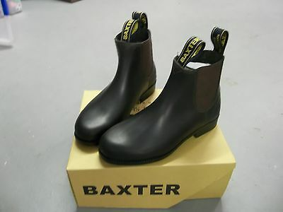 Baxter Tuffy Riding Boots Childs Brown     KIDS SIZES 6 - 13   *NEW*