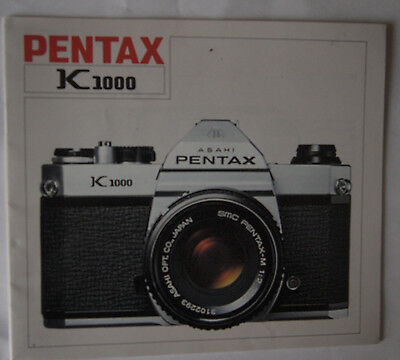 Pentax K1000 Instruction Manual
