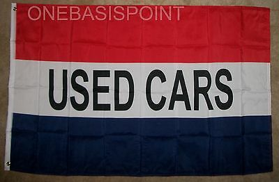 3x5 Advertising Quality Used Cars Premium Quality Flag 3'x5' Grommets Flags Garden Ornaments