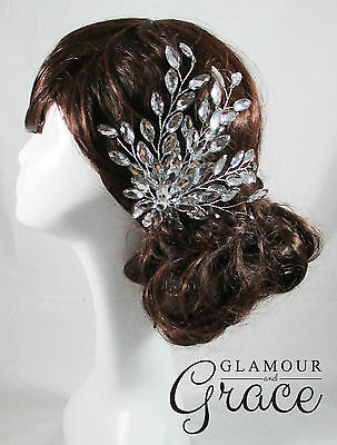 Cleo Vintage Grecian wedding bridal crystal hair accessories headpiece RRP$80