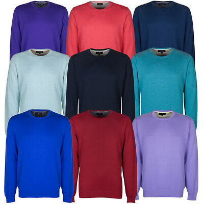 Marks & Spencer Mens Pure Cotton Crew Neck Jumper  New M&S Sweater Pullover Top