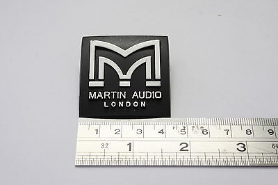 MARTIN AUDIO 42mm Square Plastic Logo Badge
