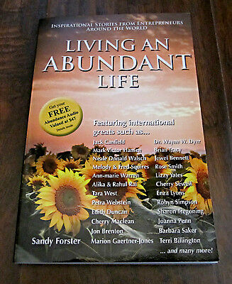 Living An Abundant Life – Sandy Forster - Soft Cover Book - New