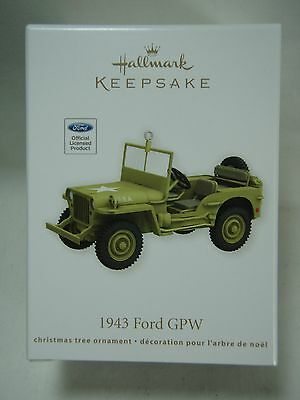 2012 Hallmark Keepsake Ornament 1943 Ford GPW