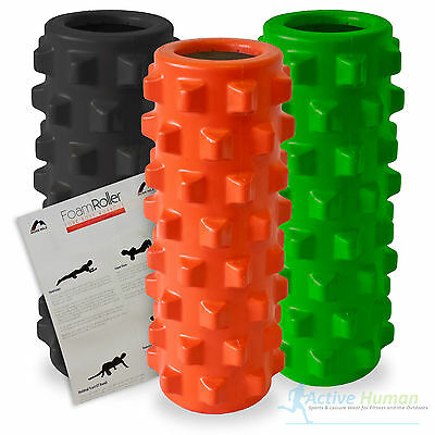 Xcelerator Foam Roller Grid Trigger Point Gym Massage Physio Sports Injury Yoga