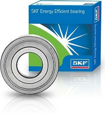 SKF E2 Energy Efficient Metal Shielded Series Metric Ball Bearing - Choose Size