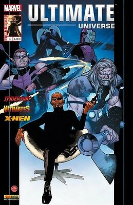 ULTIMATE UNIVERSE  N°4 Panini comics Marvel