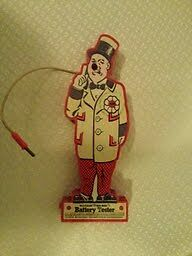 W.C Fields Red Nose Battery Tester