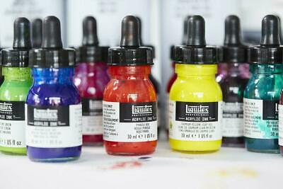 Liquitex Professional Acrylic Ink 30ml Bottles Buy 4 get 1 Free(add 5 to cart)