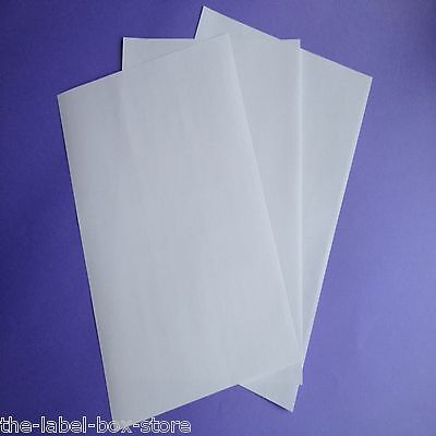 A4 White Matt Self Adhesive Freezer Labels Frozen Food Storage Labels