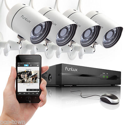 Zmodo™ 8 Channel Network DVR Outdoor Indoor IR Home Video Security Camera System
