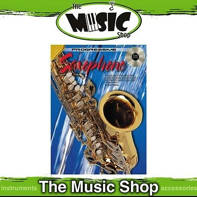 New Progressive Saxophone Lesson Book with CD - Music Tuition