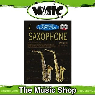 Progressive Complete Learn to Play Saxophone Manual - Book with 2 CDs
