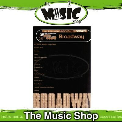New EZ Play #247 Essential Songs of Broadway Piano Music Book -  E-Z Play