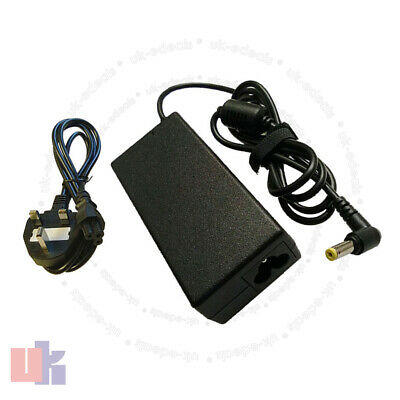 For Packard bell Easynote TK85 Laptop Charger AC Adapter 19V + LEAD POWER CORD
