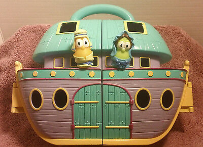VeggieTales:NOAH's ARK Play Set  - Bible Playtime - Easy Carry. FREE S&H