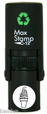 ICE CREAM CONE LOYALTY CARD STAMP MAXSTAMP C12 10MM