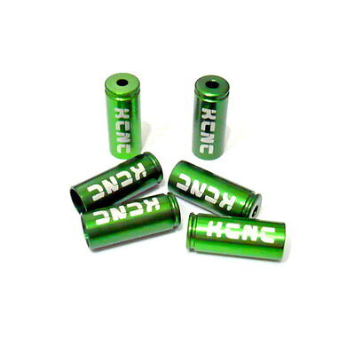 gobike88 KCNC Shift Housing Open End Caps, 4mm, 6 pieces, Green, N18
