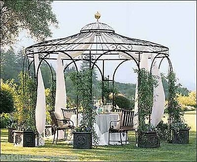 gartenlaube pavillon gartenhaus gazebo orangerie. Black Bedroom Furniture Sets. Home Design Ideas
