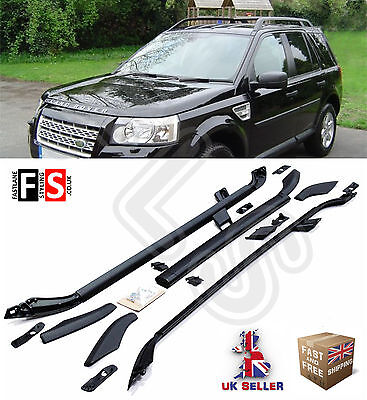 Land Rover Freelander 2 Roof Rail Bars Set + Cross Bar Oem Style 2007-13 Ly6011