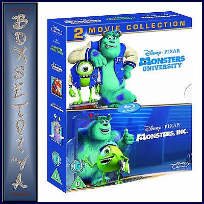 Monsters Inc & Monsters University - 2 Movie Collection  **brand New Dvd **