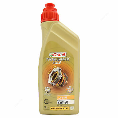 Castrol Syntrax Longlife 75W-90 Multivehicle Axle Fluid 75W90 1 Litre 1L