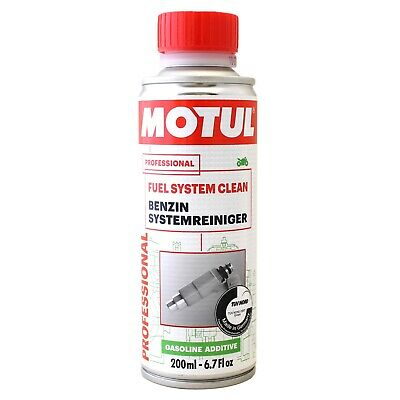Motul Motorcycle Fuel System Clean Fuel Treatment Cleaner One Shot 200ml Bottle