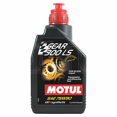 Motul GEAR 300 LS 75W-90 limited slip differential – 1 Litre