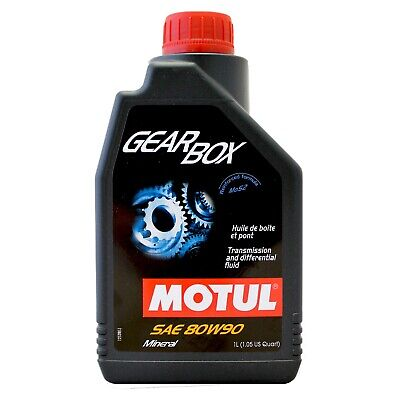 Motul Gearbox & Differential Fluid Rear Axle Lubricant SAE 80W-90 1 Litre 1L