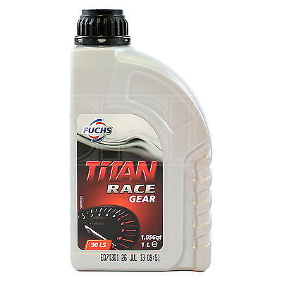 Fuchs Titan Race Gear 90 LS Performance Gear & Limited Slip Diff Oil 1 Litre