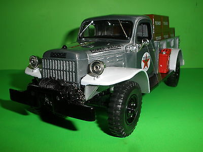 1946 Dodge Power Wagon Pick Up Truck 2011 Texaco #28 In Series Special Ed Mib F