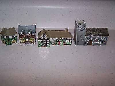 LOT OF 4 WADE WHIMSEY ON WHY HOUSES - MORGAN - BARLEY MOW - CHURCH - GREENGROCER