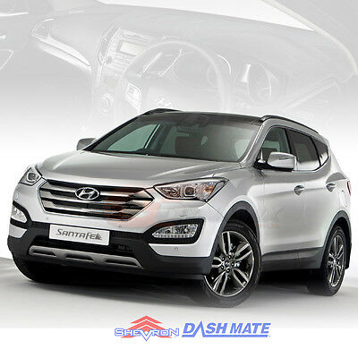 DASH MAT Hyundai SANTA FE DM APR/2012-2018 Black or Charcoal DM1280