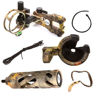 Camo Deluxe Upgrade Kit For Compound Bow Archery And Hunting