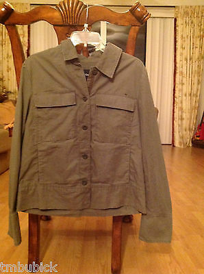 NWT GAP KIDS BOYS or GIRLS GREEN JACKET COAT New with tag Size M (8)