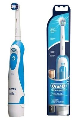 Braun Db4510 Pro-Health Oral-B Precision Clean Battery Toothbrush With Timer New