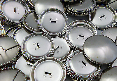 Metal Self Cover Buttons - Sizes - 11mm 15mm 19mm 22mm 29mm 38mm - Free Postage