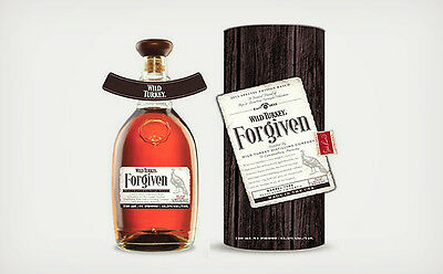 Wild Turkey Forgiven Kentucky Blended Whiskey 750ml LIMITED 1st Release
