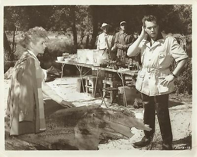 "LUCILLE BALL & DESI ARNAZ in ""Forever Darling"" Original Vintage Photo 1956"