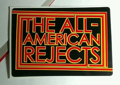 The All-American Rejects Swing Swing Doghouse Rare Promo Sticker