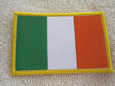 Ireland Irish Flag Embroidered Patch Tri/Color Flag Of Ireland AOH